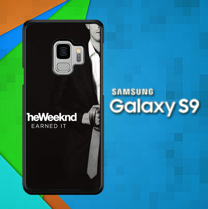 weeknd earned it X0453 Samsung Galaxy S9 Case Christmas Gifts | Xmas Presents and Gift Ideas-Samsung Galaxy S9 Cases-Recovery Case
