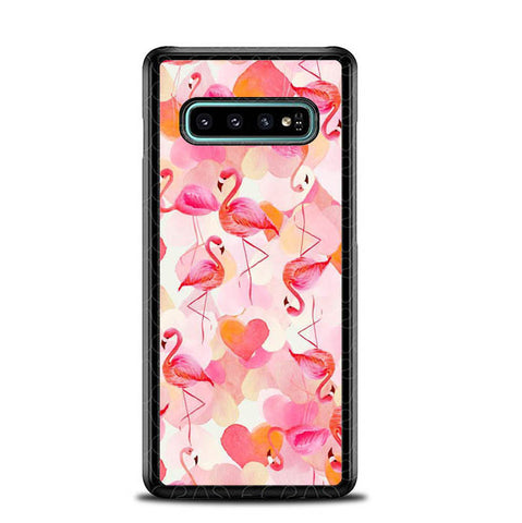 Flamingo Pink L0039 Samsung Galaxy S10 Plus Cover Cases