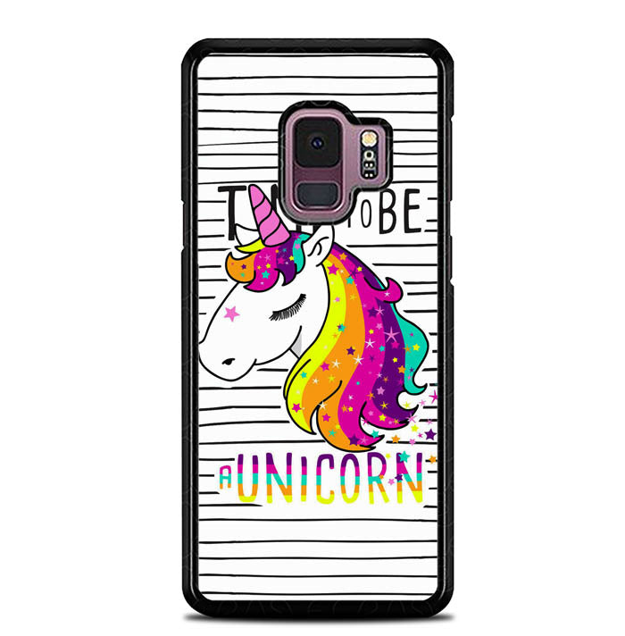 Time to be a Unicorn L0445 Samsung Galaxy S9 Case