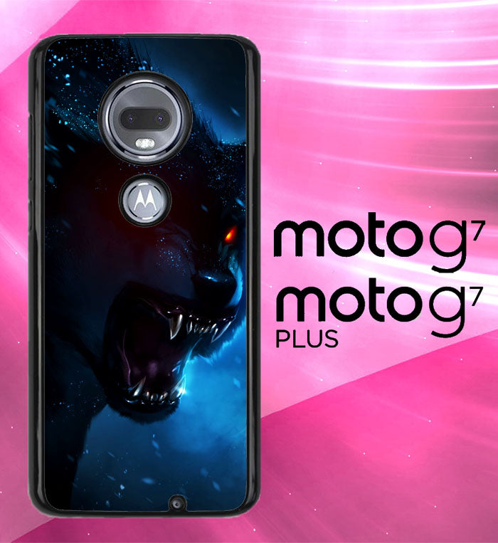 Wolf Wallpaper L0470 Motorola Moto G7 G7 Plus Case Christmas Gifts Xmas Presents And Gift Ideas