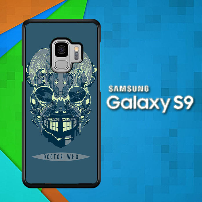 Doctor Who TARDIS Skull L1237 Samsung Galaxy S9 Case New Year Gifts 2020-Samsung Galaxy S9 Cases-Recovery Case