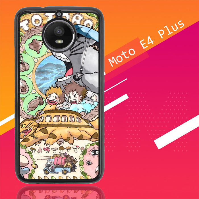My Neighbor Totoro Studio Ghibli L1460 Motorola Moto E4 Plus Case New Year Gifts 2020-Motorola Moto E4 Plus-Recovery Case