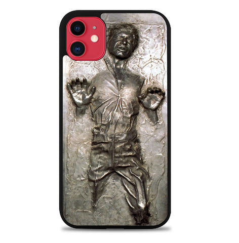 Star Wars Han Solo Frozen in Carbonite L1674 iPhone 11 Case