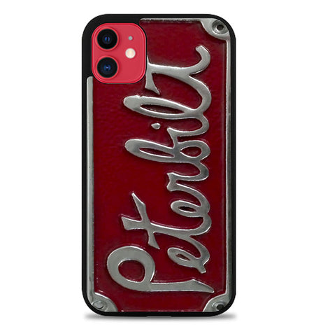 Peterbilt Truck License Plate L2200 iPhone 11 Case