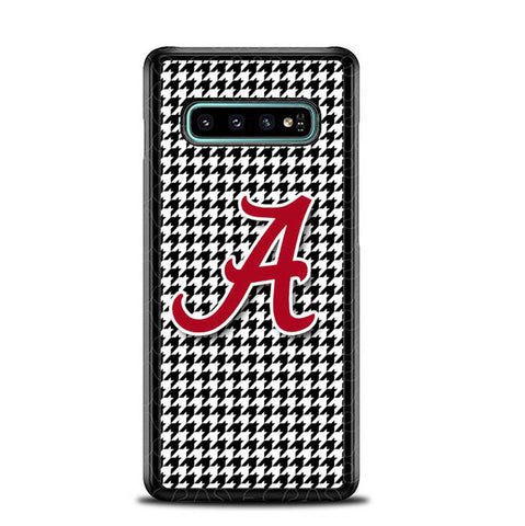 Alabama Houndstooth Crimson Tide L2385 Samsung Galaxy S10 Plus Cover Cases