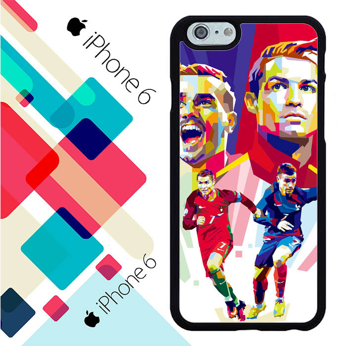 Cristiano Ronaldo Vs Griezmann L2562 iPhone 6 | 6S Case New Year Gifts 2020-iPhone 6 | 6S Cases-Recovery Case