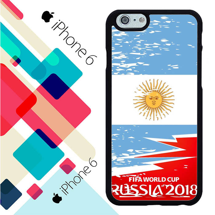 Fifa World Cup Argentina Flag L2567 iPhone 6 | 6S Case New Year Gifts 2020-iPhone 6 | 6S Cases-Recovery Case