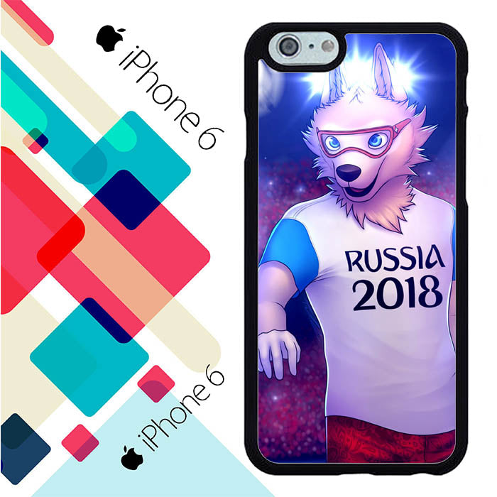 Mascot Zabivaka L2582 iPhone 6 | 6S Case New Year Gifts 2020-iPhone 6 | 6S Cases-Recovery Case