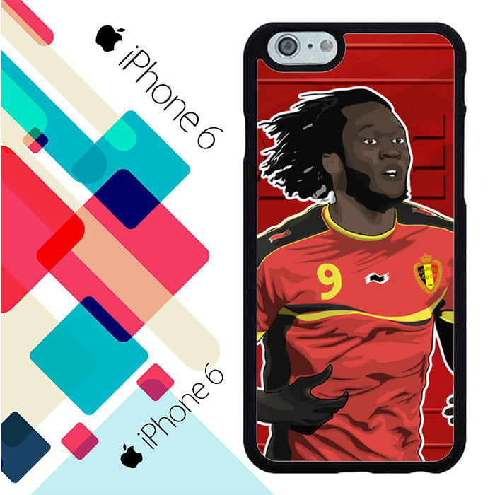 Romelu Lukaku Belgium L2596 iPhone 6 | 6S Case New Year Gifts 2020-iPhone 6 | 6S Cases-Recovery Case