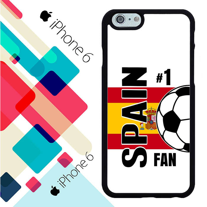Spain 2018 Russia Soccer Games L2599 iPhone 6 | 6S Case New Year Gifts 2020-iPhone 6 | 6S Cases-Recovery Case