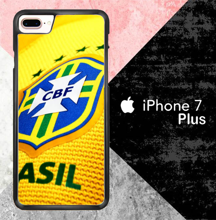 Brazil Logo L2610 iPhone 7 Plus Case New Year Gifts 2020-iPhone 7 Plus Cases-Recovery Case