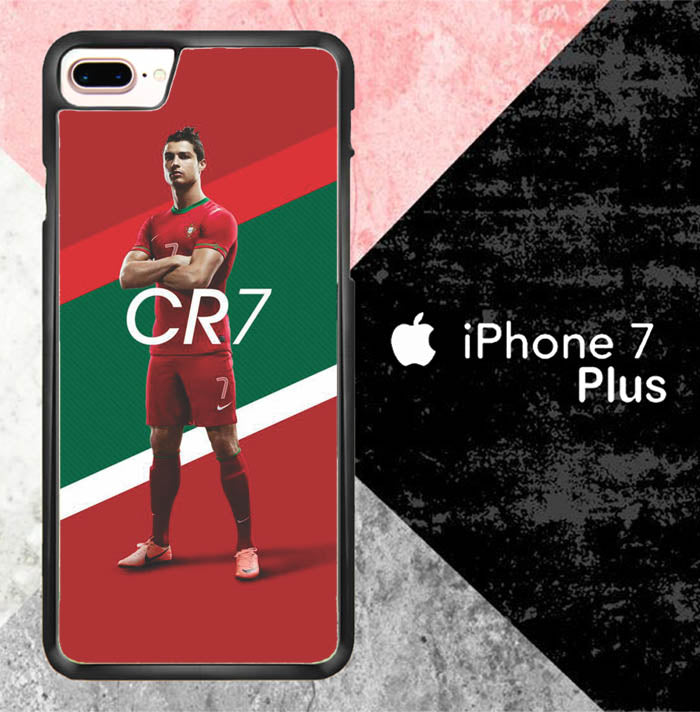 CR7 Portugal L2611 iPhone 7 Plus Case New Year Gifts 2020-iPhone 7 Plus Cases-Recovery Case