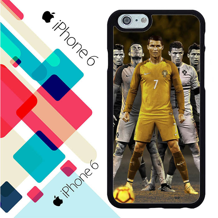 CR7 Ronaldo L2612 iPhone 6 | 6S Case New Year Gifts 2020-iPhone 6 | 6S Cases-Recovery Case