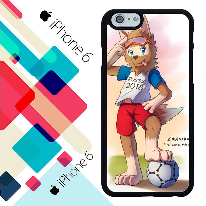 Zabivaka Fifa 2018 Mascot L2622 iPhone 6 | 6S Case Christmas Gifts | Xmas Presents and Gift Ideas-iPhone 6 | 6S Cases-Recovery Case