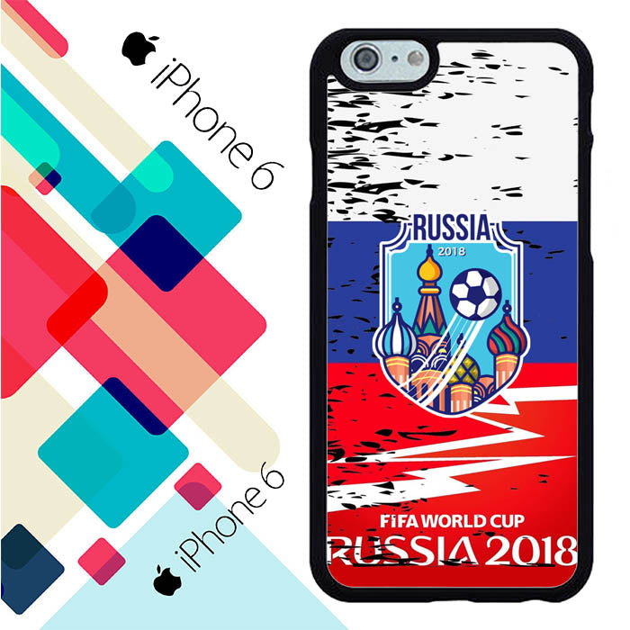 Fifa World Cup 2018 Russia Flag L2627 iPhone 6 | 6S Case New Year Gifts 2020-iPhone 6 | 6S Cases-Recovery Case