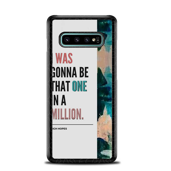 High Hopes Lyrics L2776 Samsung Galaxy S10 Plus Case New Year Gifts 2020-Samsung Galaxy S10 Plus Case-Recovery Case
