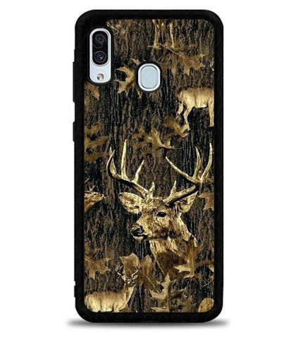 Deer Hunting Camo L2807 Samsung Galaxy A20 Case