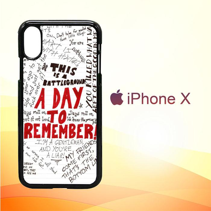 A Day To Remember Wallpaper Y0237 Iphone X Case Fantastic Case