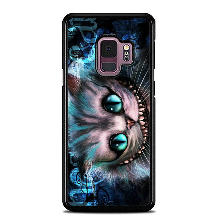 cheshire cat quote wallpaper Y0451 Samsung Galaxy S9 Case