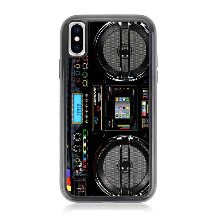 Boombox Ghetto Blaster Funny Y0509 iPhone XS Max Case