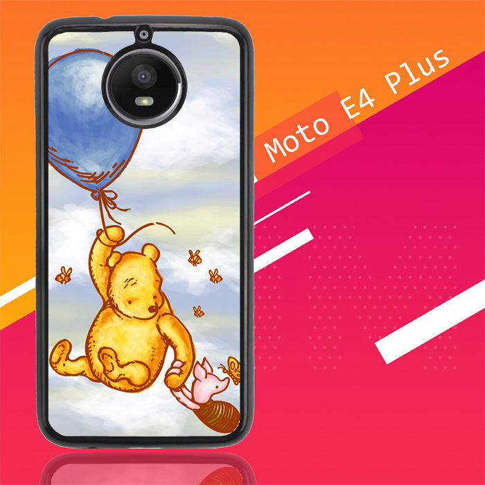 Vintage Winnie The Pooh Balloon Y0726 Motorola Moto E4 Plus Case Christmas Gifts | Xmas Presents and Gift Ideas-Motorola Moto E4 Plus-Recovery Case