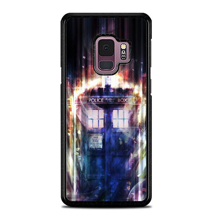doctor who tardis in space Y0796 Samsung Galaxy S9 Case