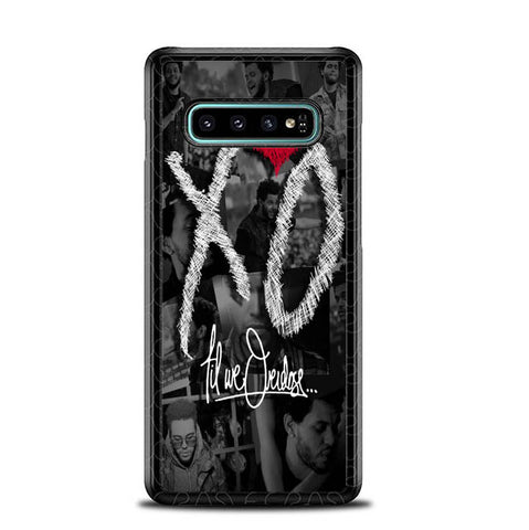 the weeknd xo WALLPAPER Y0839 Samsung Galaxy S10 Plus Cover Cases