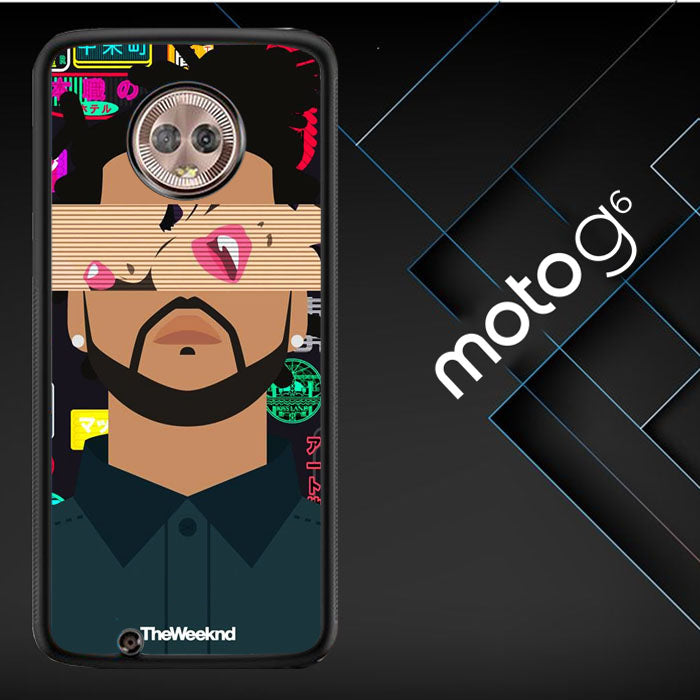 The Weeknd Xo Wallpaper Y0841 Motorola Moto G6 Moto G 6th Generation Case Christmas Gifts Xmas Presents And Gift Ideas