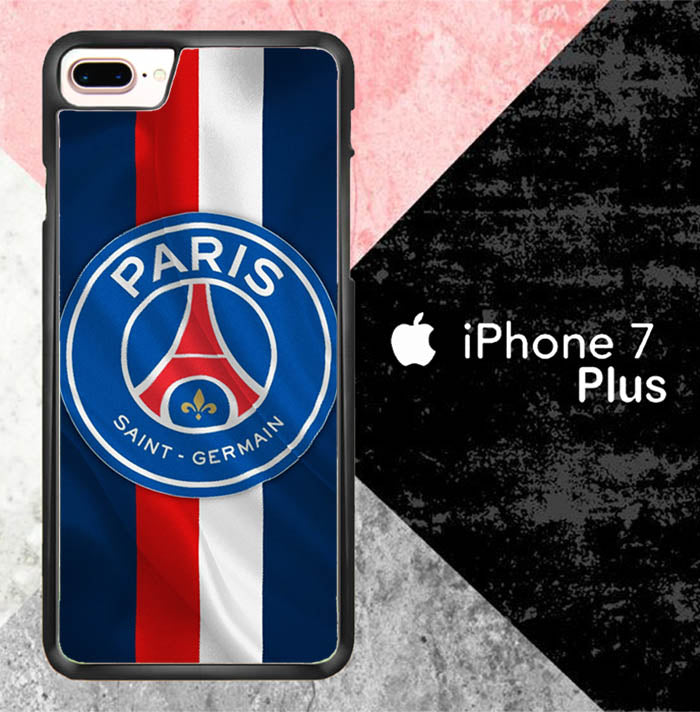 Paris Saint Germain W0042 iPhone 7 Plus Case New Year Gifts 2020-iPhone 7 Plus Cases-Recovery Case