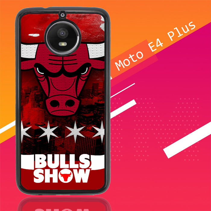 Chicago Bulls W3128 Motorola Moto E4 Plus Case New Year Gifts 2020-Motorola Moto E4 Plus-Recovery Case