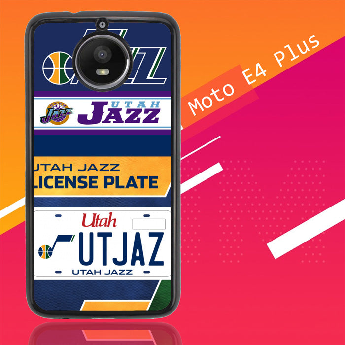 Utah Jazz W3163 Motorola Moto E4 Plus Case Christmas Gifts | Xmas Presents and Gift Ideas-Motorola Moto E4 Plus-Recovery Case