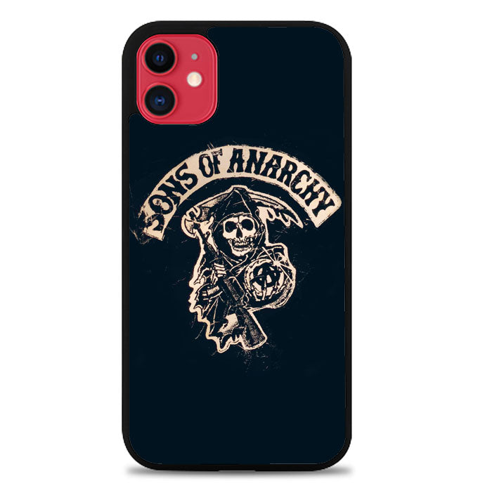 Sons Of Anarchy Skull W4688 iPhone 11 Case