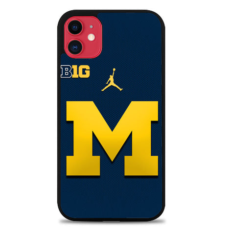 michigan wolverines W4837 iPhone 11 Case