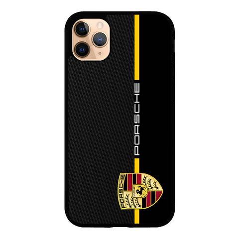 Porsche Stripe Carbon W4947 iPhone 11 Pro Max Case