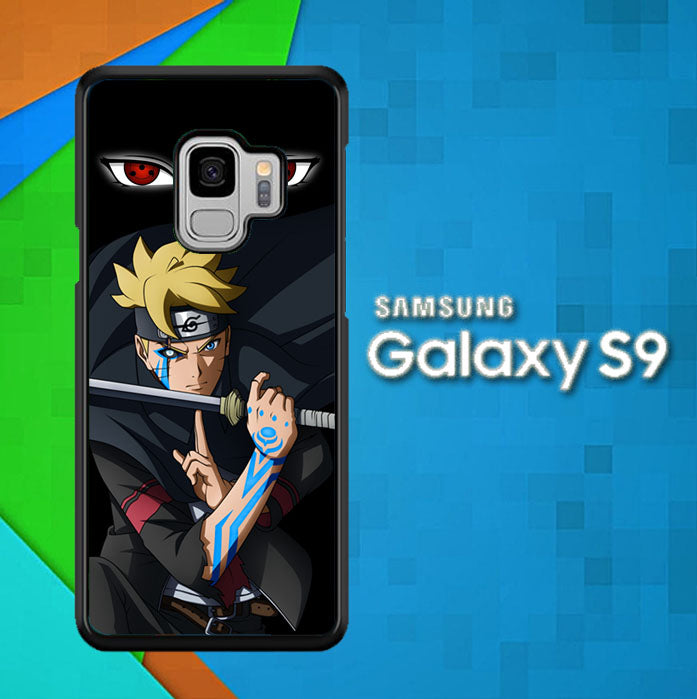 Boruto Uzumaki W5224 Samsung Galaxy S9 Case New Year Gifts 2020-Samsung Galaxy S9 Cases-Recovery Case