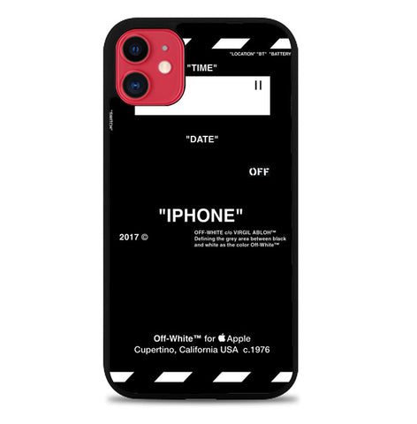 off white W5716 iPhone 11 Case
