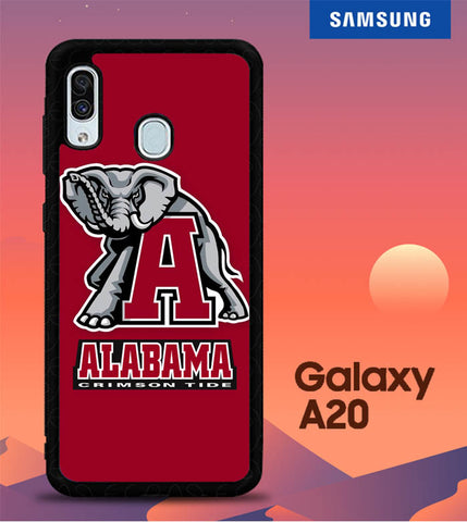 Alabama Crimson Tide W8714 Samsung Galaxy A20 Cover Cases