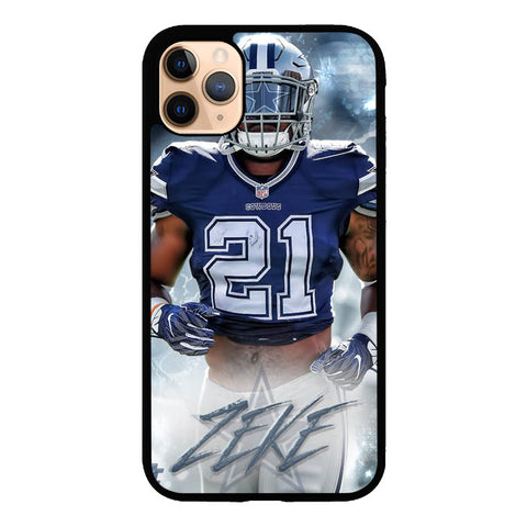 ezekiel elliott dallas cowboys W8728 iPhone 11 Pro Max Case