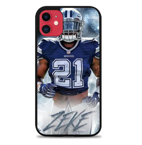 ezekiel elliott dallas cowboys W8728 iPhone 11 Case