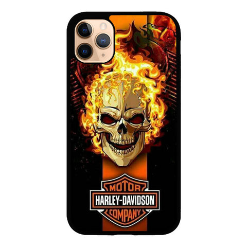 Harley Davidson Racing W8849 iPhone 11 Pro Max Case