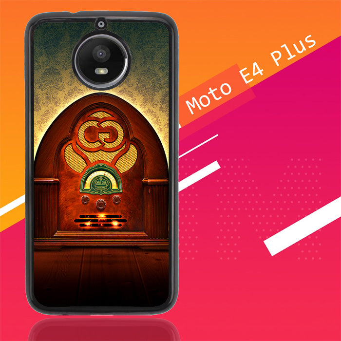 Vintage Radio Y1707 Motorola Moto E4 Plus Case Christmas Gifts | Xmas Presents and Gift Ideas-Motorola Moto E4 Plus-Recovery Case