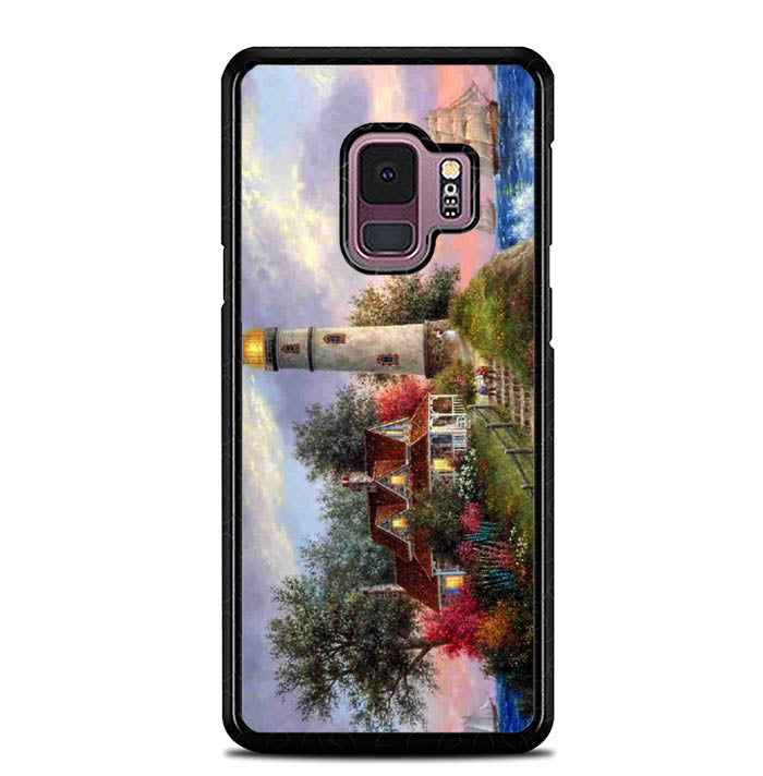 Lighthouse On Hill art Y1722 Samsung Galaxy S9 Case