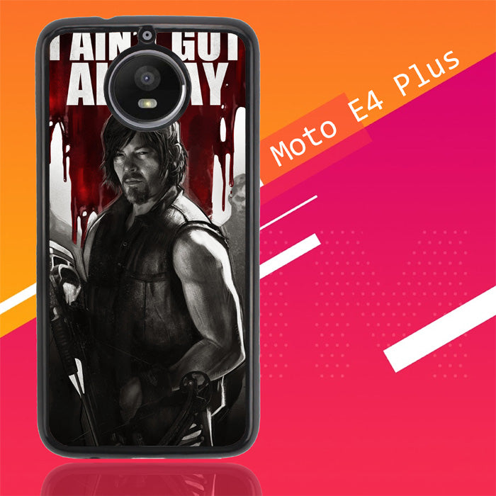 Walking Dead Daryl Art Y1847 Motorola Moto E4 Plus Case Christmas Gifts | Xmas Presents and Gift Ideas-Motorola Moto E4 Plus-Recovery Case