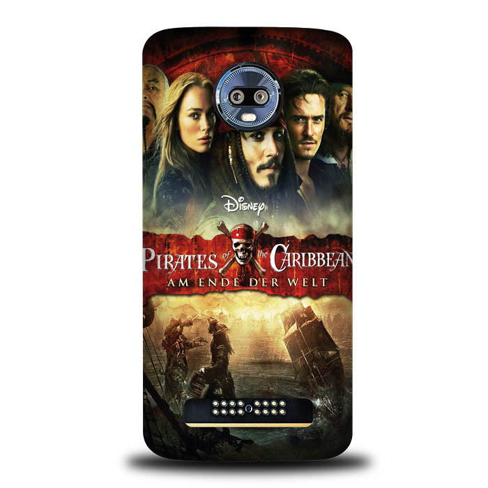 Pirates Of The Caribbean Poster Y2019 Motorola Moto Z4 , Moto Z4 Play Case
