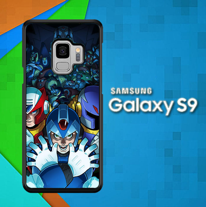 Megaman Y2113 Samsung Galaxy S9 Case New Year Gifts 2020-Samsung Galaxy S9 Cases-Recovery Case