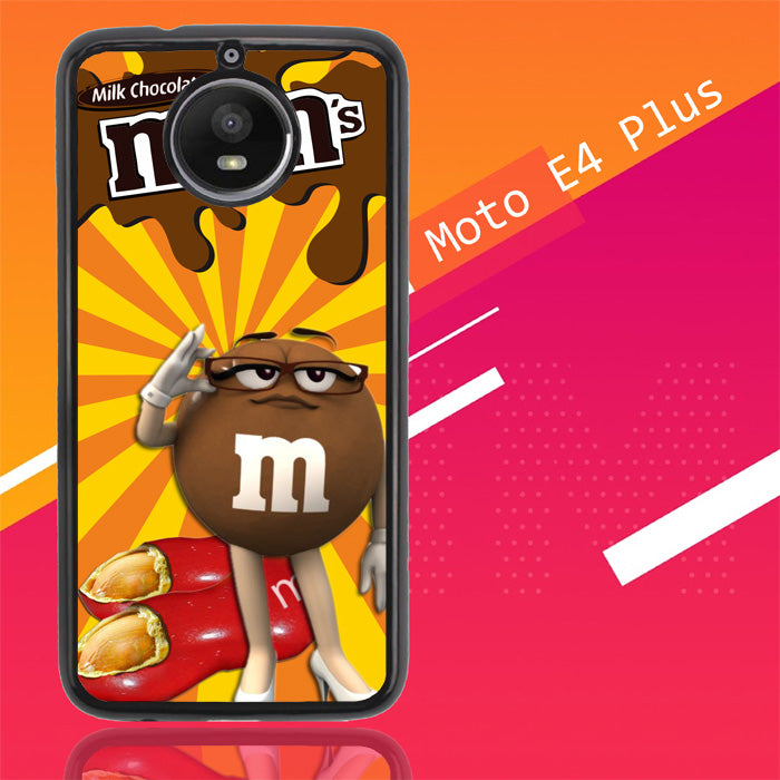 Chocolate Candy M&M Y2361 Motorola Moto E4 Plus Case New Year Gifts 2020-Motorola Moto E4 Plus-Recovery Case
