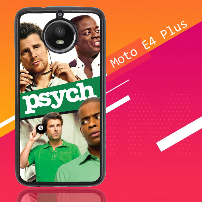 Psych Tv Series Y2600 Motorola Moto E4 Plus Case New Year Gifts 2020-Motorola Moto E4 Plus-Recovery Case