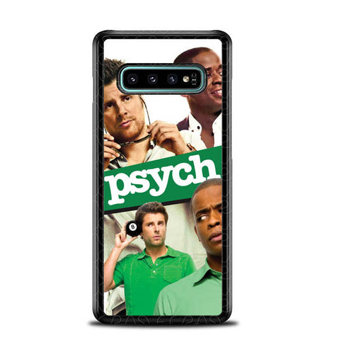 Psych Tv Series Y2600 Samsung Galaxy S10 Plus Cover Cases