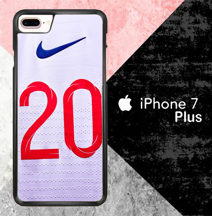 Raheem Sterling England Jersey J0231 iPhone 7 Plus Case New Year Gifts 2020-iPhone 7 Plus Cases-Recovery Case