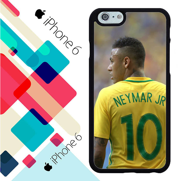 Neymar Jr From Brazil World Cup Russia 2018 J0515 iPhone 6 | 6S Case New Year Gifts 2020-iPhone 6 | 6S Cases-Recovery Case